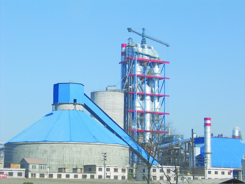Cement production line process equipment
